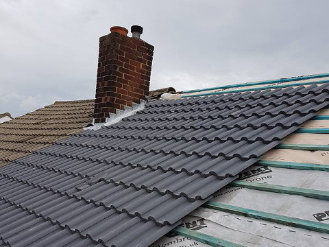 full roof replacement Little Harwood